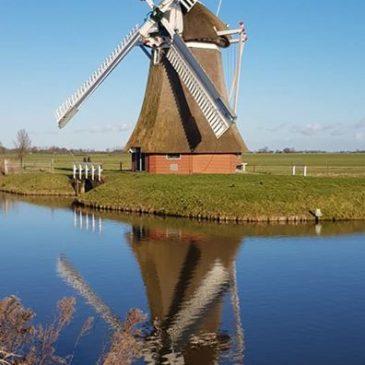 De grootste poldermolen in #Groningen. Een …