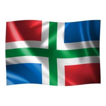 De Groninger vlag koop je bij de VVV Het Hogeland …