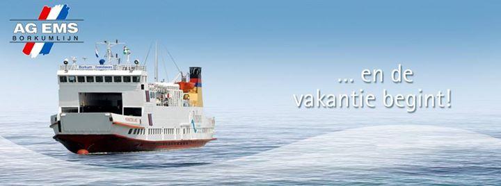 Met de boot naar #Borkum? Koop je ticket alvast …