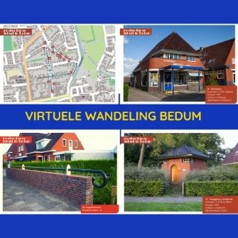 Virtuele wandeling Amsterdamse School in Bedum
