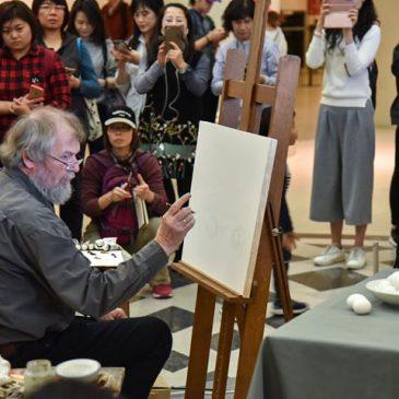 Onze #Groninger kunstschilder Henk Helmantel geeft …